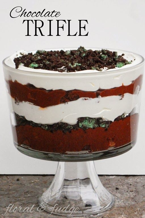 chocolate trifle | Good stuff(: | Pinterest