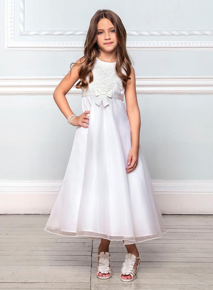 Tara ivory lace bridesmaid dress bhs wedding pinterest for Wedding dresses for child