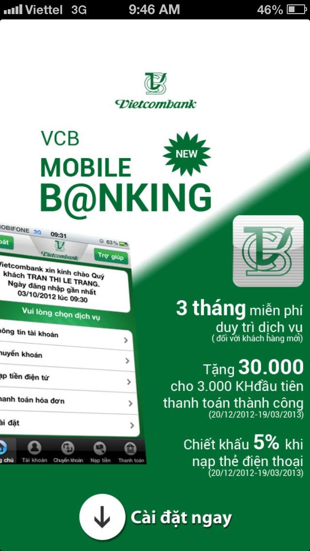 Vietcombank   Full Page Ads   Pinterest