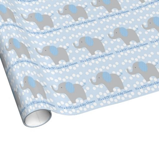 elephant wrapping paper Free shipping on orders over $35 buy elephant baby shower wrapping paper, 5 x 25 ft, blue, 1ct at walmartcom.