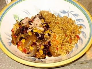 Jamaican jerk pork chops made in the Crockpot