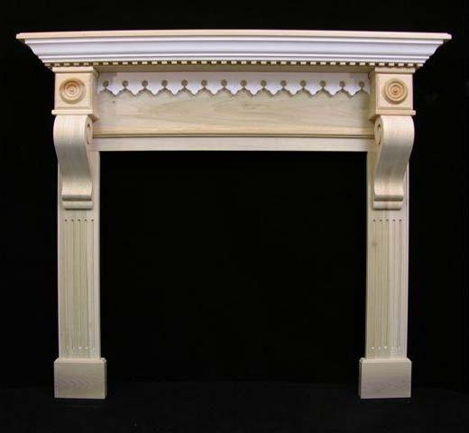 Victorian Gingerbread Fireplace Mantel Victorian