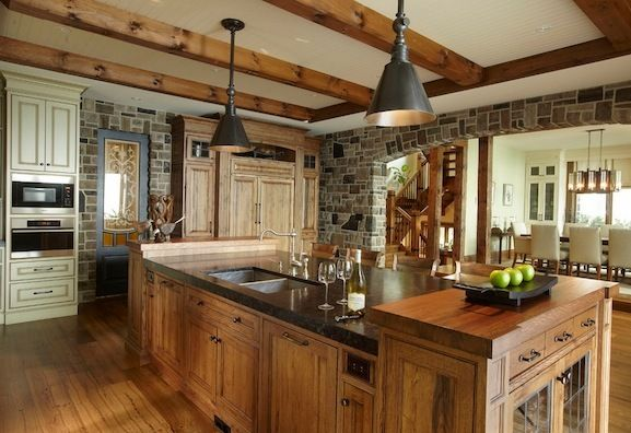 Affordable Rustic Kitchens Home Pinterest