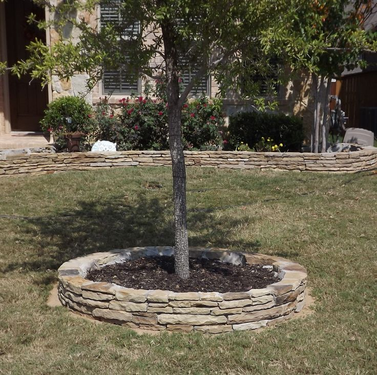 Flower bed edging paint colors and misc home - Stone edging for garden beds ...