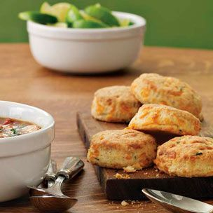 Chive-Cheddar Biscuits | Williams-Sonoma---Awesome with Black Bean ...