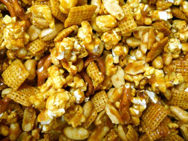 Homemade Cracker Jacks | Food: Snack-Popcorn | Pinterest