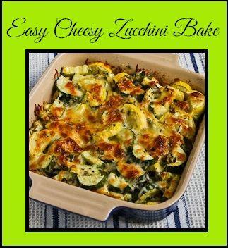 Easy Cheesy Zucchini Bake on MyRecipeMagic.com *Please like and repin ...