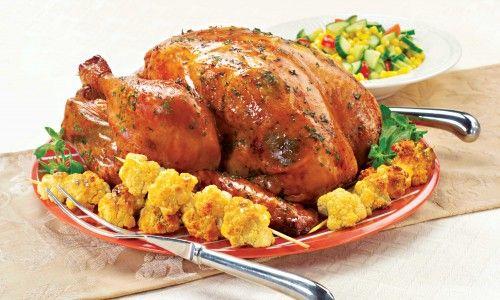 Lemon-Oregano Grilled Turkey | Foods | Pinterest
