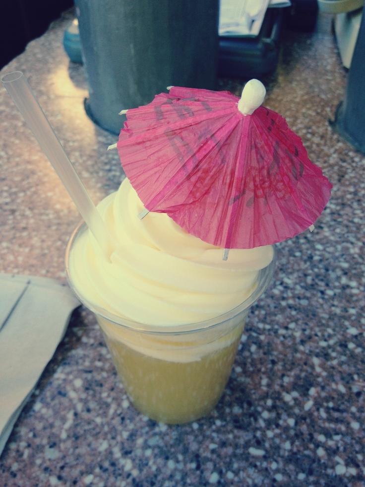 Dole Whip ! #Disneyland #DoleWhip | Delicious Drinks | Pinterest