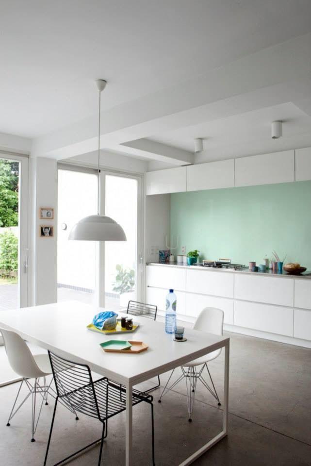 20170420 074742 keuken badkamer verf - Kleur verf moderne keuken ...