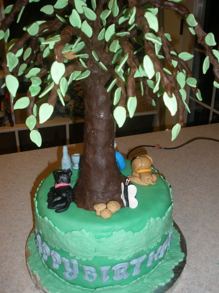 Cake Decorating Ideas With Modeling Chocolate : Modelling chocolate tree. Classic Cakes Pinterest