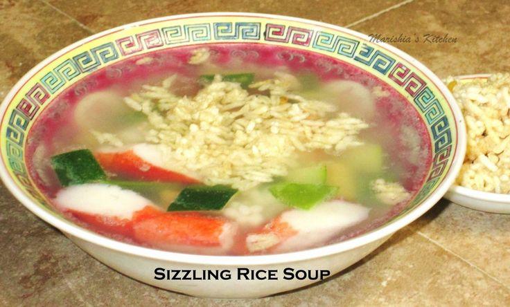 Sizzling Rice Soup** | Marishia's Kreative Kitchen