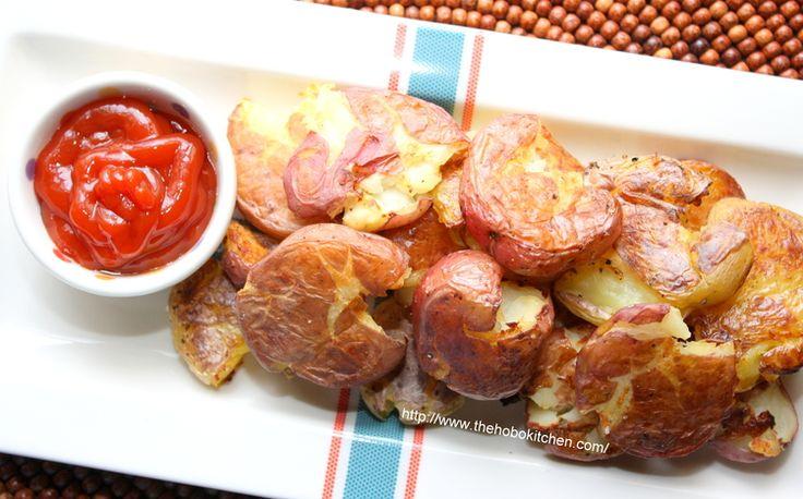 Crispy Smashed Potatoes — The Hobo Kitchen