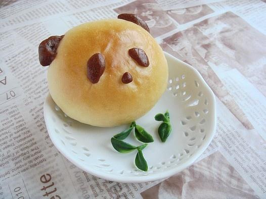 Panda Bread/Bun | Panda Smandas | Pinterest