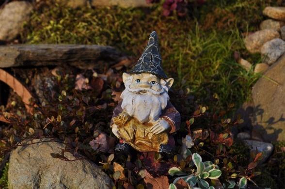 garden troll landscape decor whimsy pinterest
