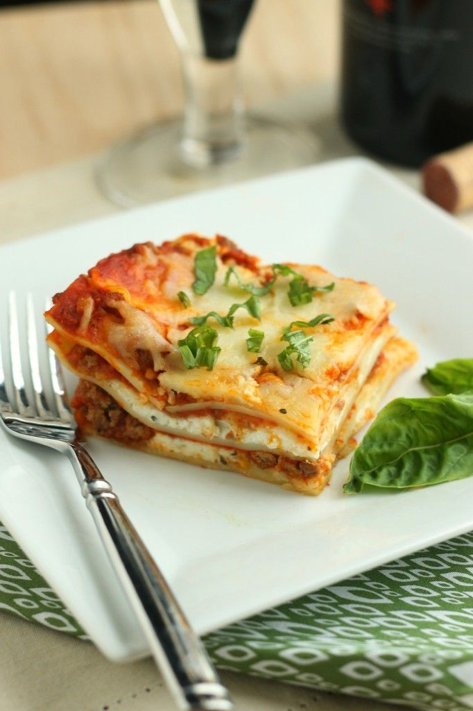 Classic Four Cheese Lasagna | casserole | Pinterest