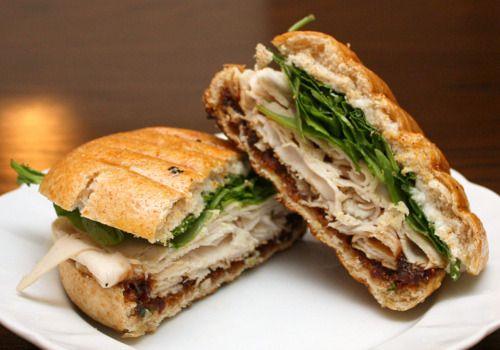Turkey spinach panini | Panini Press | Pinterest