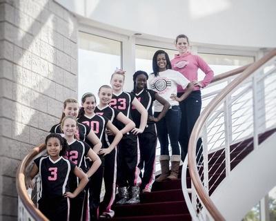 Branchville Juniors Club Volleyball rockin' their GTM apparel! #volleyball #weloveourcustomers