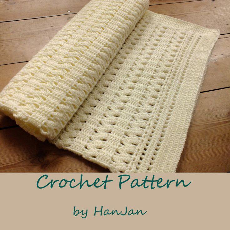 Crochet Zigzag Baby Blanket