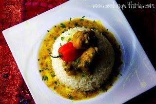 Trinidadian Curried Chicken | Curried Chicken | Pinterest