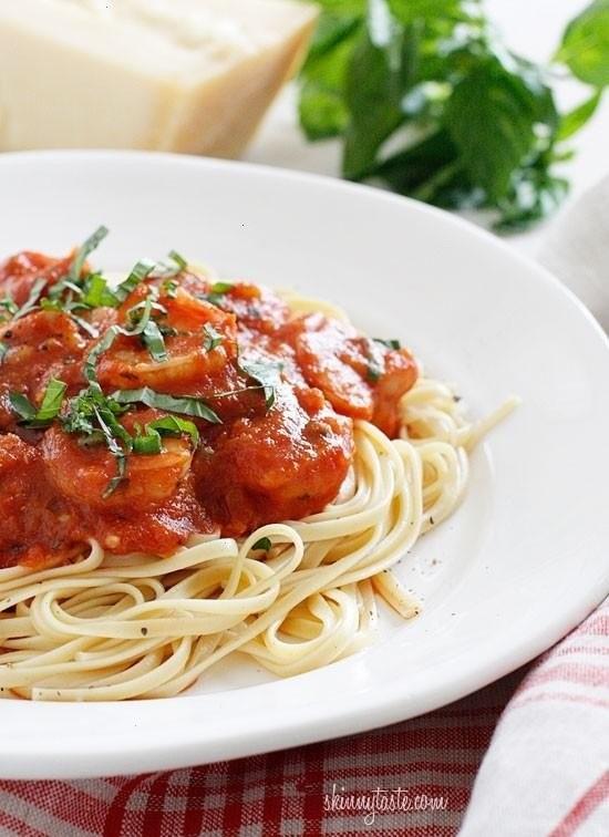 Linguini And Shrimp Fra Diavolo   mmmmm :)   Pinterest