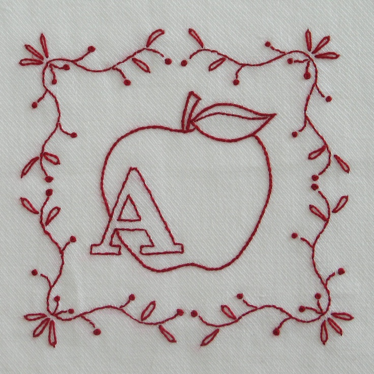Embroidery Patterns Letters Ausbeta