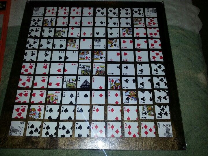 Diy sequence board game done games arts amp crafts pinterest