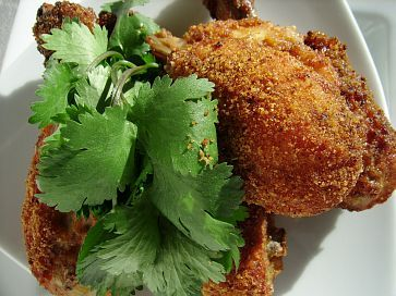 Chipotle Breaded Baked Chicken Drumsticks