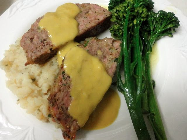 "1770 House Meatloaf with Garlic Sauce from Ina Garten's ""Barefoot ..."