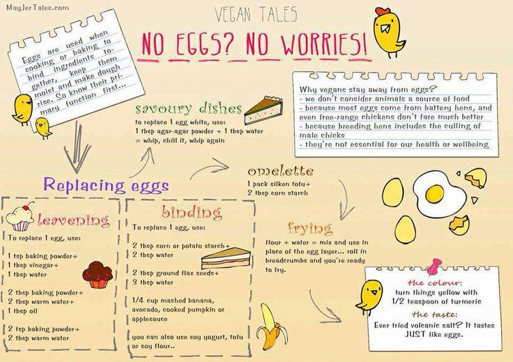 Vegan egg substitute veggie love pinterest - Alternative uses for eggs ...