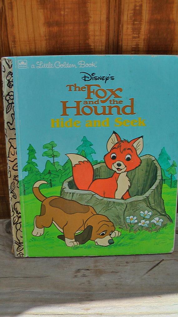 Little Golden Book A Fox Jumped Up One Winter's Night 1985
