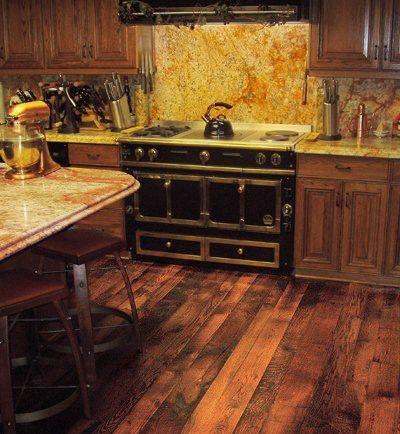 Reclaimed Barn Wood Floor For The Home Pinterest