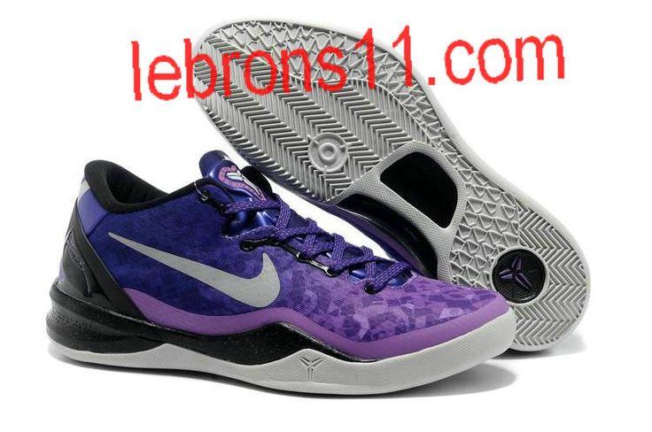 Kobe 8 Girls Gradient Purple Basketball Shoes for Womens