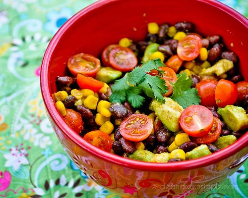 Black Bean, Corn, and Avocado Salad   Yummy In My Tummy!!   Pinterest