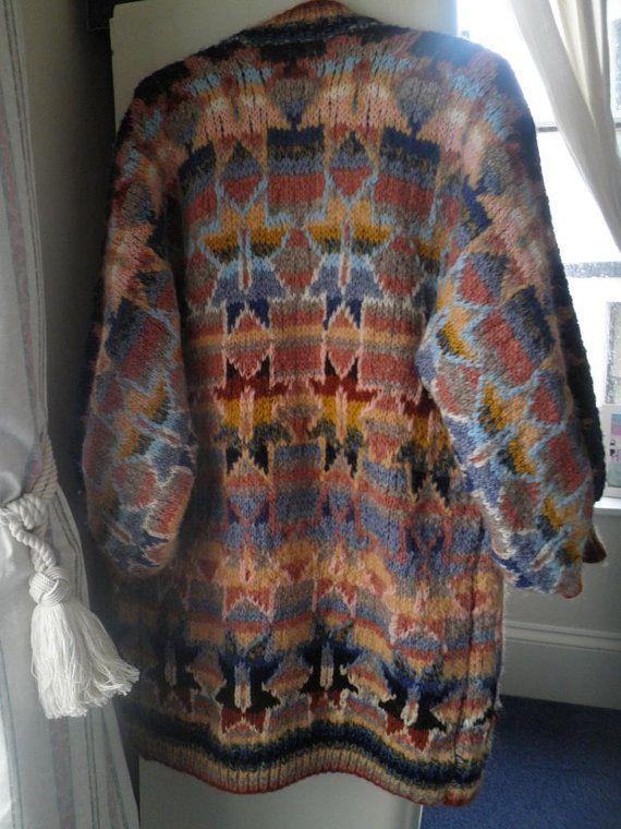 Kaffe Fassett, Star pattern. Knit, Crochet Pinterest