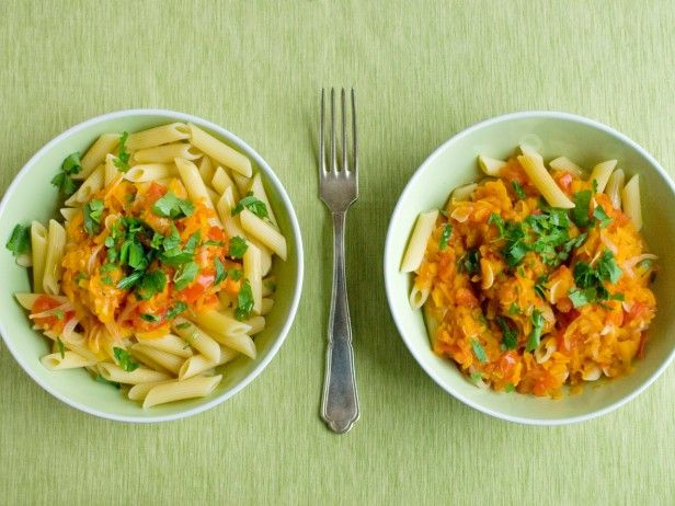 Pasta with Winter Squash and Tomatoes | Recipe