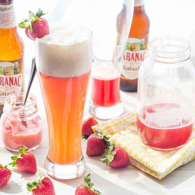 Strawberry-Rhubarb Shandy: 17 Refreshing Beer Cocktails You Need In ...
