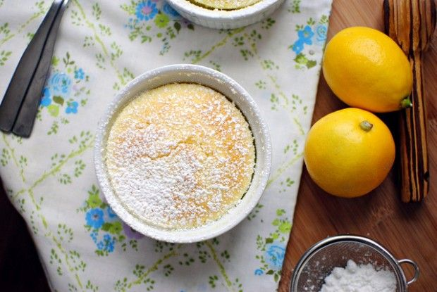 Meyer Lemon, Lime And Quinoa Pudding Cakes Recipes — Dishmaps