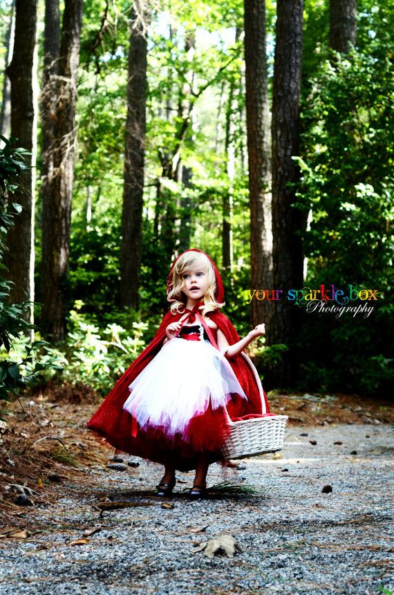 little red riding hood! How cute!!!! I've decided that every year my kids will get a little photo shoot done in their Halloween costume