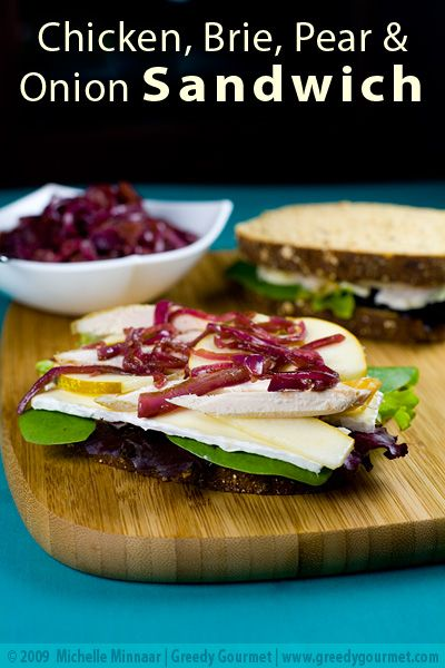 Grilled Cheese Sandwich With Brie, Pear & Hazelnuts Recipe ...
