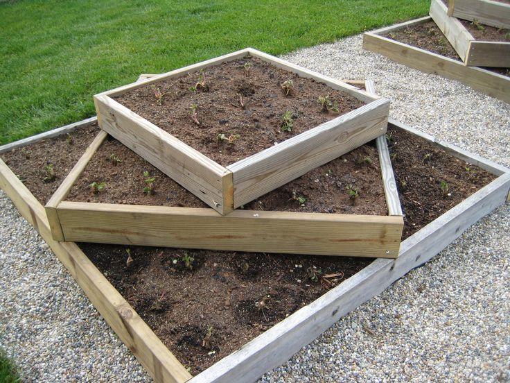 Strawberry Bed backyard living gardening Pinterest