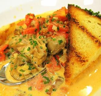 Oyster & Shrimp Pan Roast | NOLA Seafood Pan Roast | Pinterest