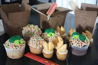 Christie's Cakes: Chinese Take-Out Cupcakes | Good Eats | Pinterest