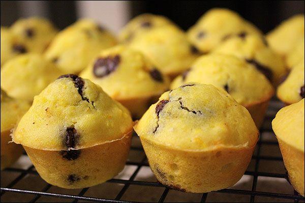 orange chocolate chip muffins | ([{ the food artisan }]) | Pinterest