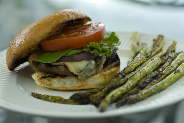 "Grilled Portobello Mushroom ""Burger""- so good you wish you could fe..."