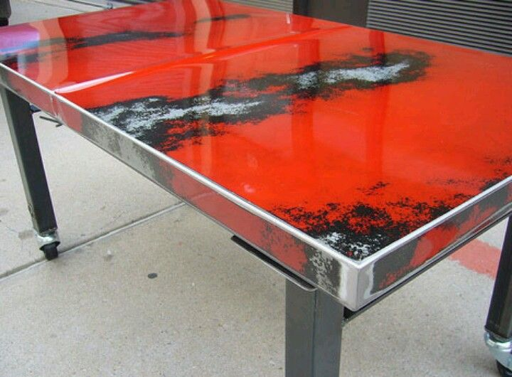 Upcycled Car Bonnet Coffee Table Upcycled Furniture For Our Future