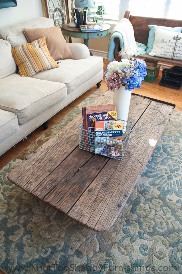 Time Worn And True Warehouse Cart Coffee Table Michele Rivard