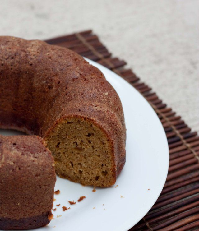 Pumpkin Pecan Cake With Brown Sugar And Bourbon Glaze Recipe Key