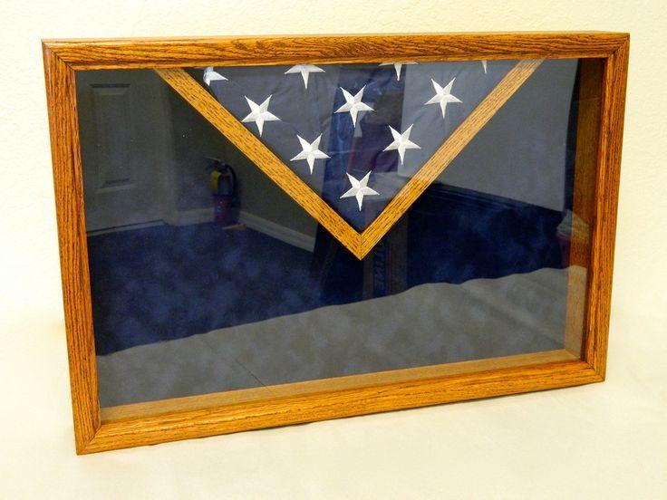 us flag shadow box