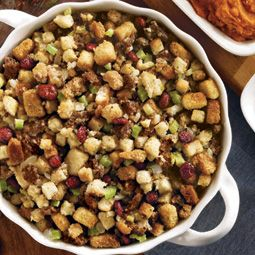 Cranberry & Sausage Stuffing   Recipes   Pinterest